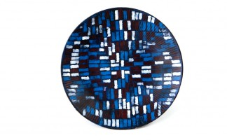 Black blue white